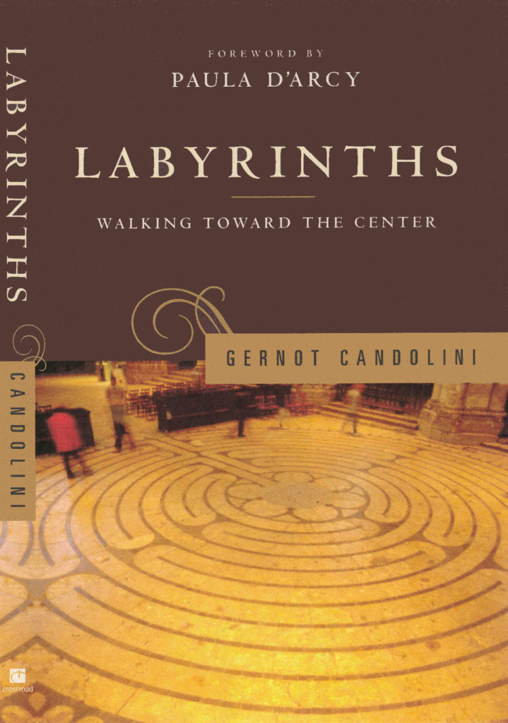 "Book cover ""Labyrinths - Walking toward the Center"" by Gernot Candolini"
