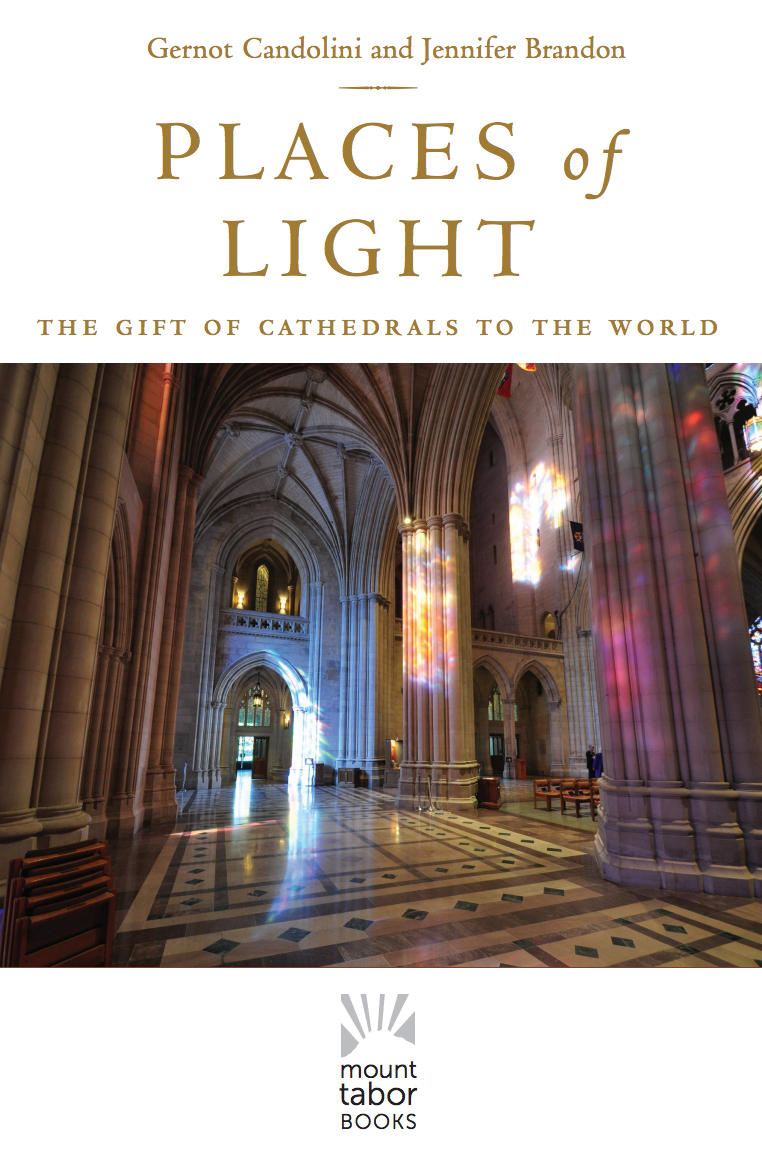 "Book Cover ""Places of Light"" by Gernot Candolini and Jennifer Brandon"